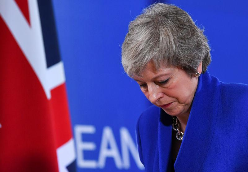 <em>Theresa May is facing more Brexit woes after another ministerial resignation (Picture: REUTERS/Dylan Martinez)</em>