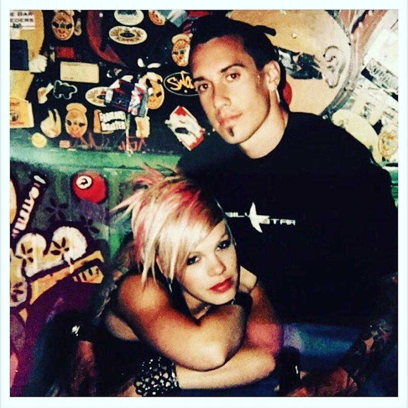 """<p>The singer recently welcomed a son, Jameson, with hubby Carey Hart, and was feeling nostalgic about their long and mostly sweet romance. Along with a throwback from their early days together, she gushed, """"My sweet sweet valentine. I've been loving you for so long I don't remember what it's like not to."""" Swoon. (Photo: <a rel=""""nofollow"""" href=""""https://www.instagram.com/p/BQf79GBgEkW/?hl=en"""">Instagram</a>) </p>"""