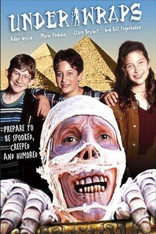 <p>If you couldn't immediately tell from the title and poster art, this one's about a mummy. Deal with it.<br><br><i>(Credit: Disney Channel)</i> </p>