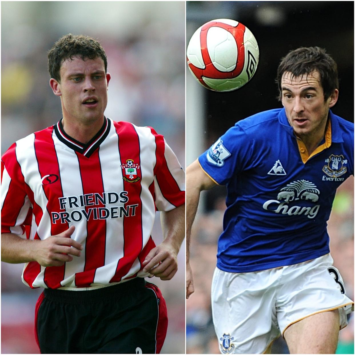 Wayne Bridge, left, and Leighton Baines