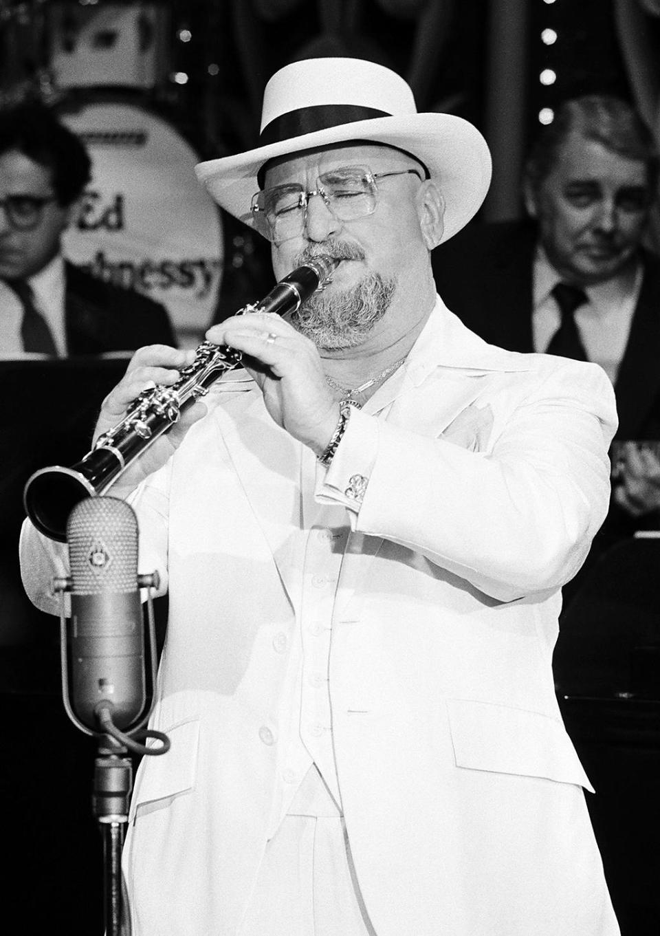 Pete Fountain was a legendary clarinetist who brought traditional New Orleans jazz to the mainstream via his frequent appearances on the Lawrence Welk and Johnny Carson television shows. He died of heart failure on Aug. 6, at age 86. (Photo: Gary Null/NBC/NBCU Photo Bank via Getty Images)