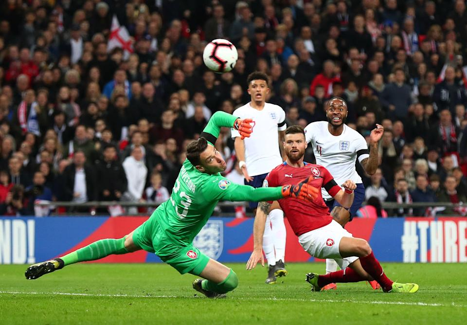 The Czech Republic beat England 2-1 in Prague in 2019 (Getty Images)