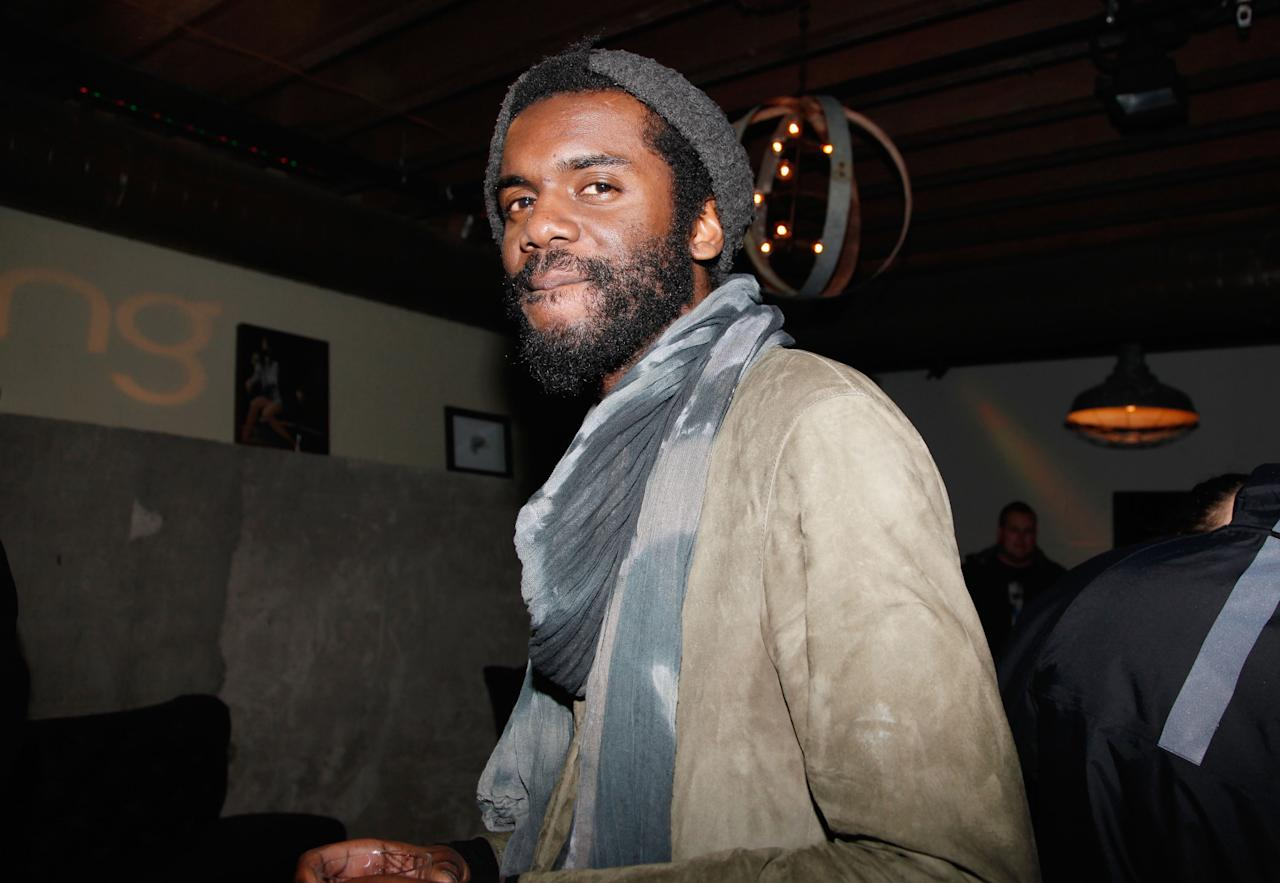 PARK CITY, UT - JANUARY 20:  Guitarist Gary Clark Jr. attends night 1 of Late Night at the Bing Bar catered by Catch  on January 20, 2012 in Park City, Utah.  (Photo by Anna Webber/Getty Images for Bing)