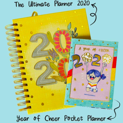 "<a href=""https://fave.co/2QigRPO"">BUY HERE</a> This cute planner is not only fun but also ideal to plan out your life. Bonus: it also has adorable stickers!"