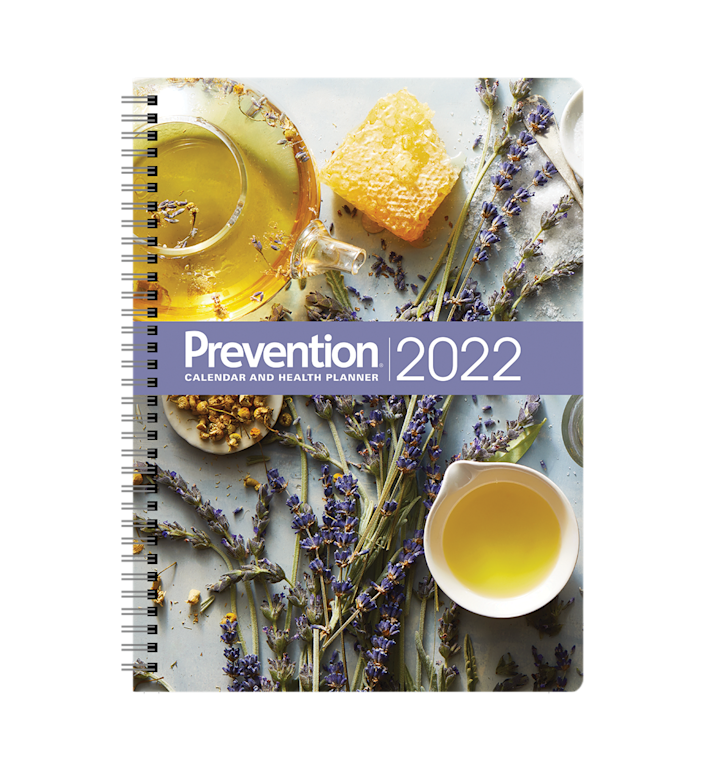 """<p>This planner features easy-to-write-on paper, a lay-flat spiral binding, beautiful full-color photos, important holidays, 7-day health challenges, and much more!</p><p><a class=""""link rapid-noclick-resp"""" href=""""https://shop.prevention.com/prevention-2022-calendar-and-health-planner.html?source=2022PRECal_-ed-New_Article-"""" rel=""""nofollow noopener"""" target=""""_blank"""" data-ylk=""""slk:SHOP NOW"""">SHOP NOW</a></p>"""