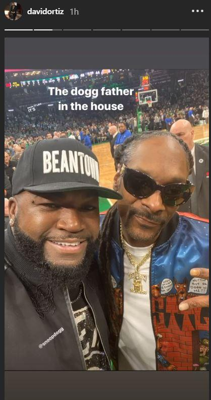 David Ortiz Snoop Dogg