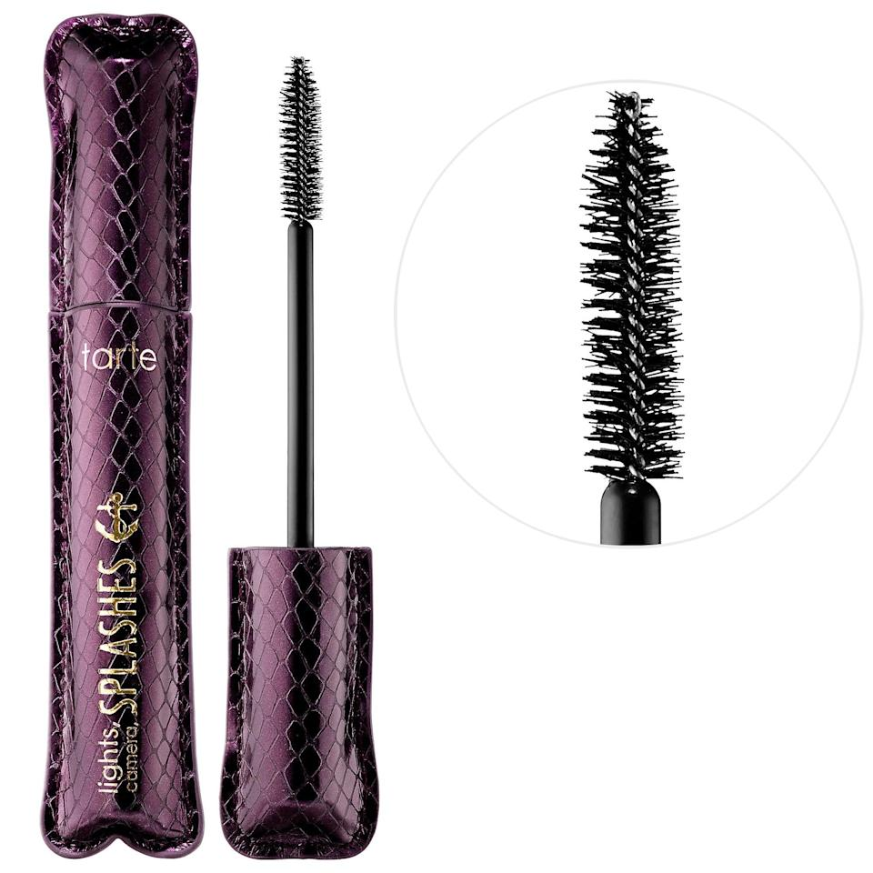 <p>The <span>Tarte Lights, Camera, Splashes Waterproof Mascara</span> ($23) is the waterproof version of the beloved original formula. It gives you perfectly curled, lifted lashes, all thanks to the fluffy mascara wand.</p>