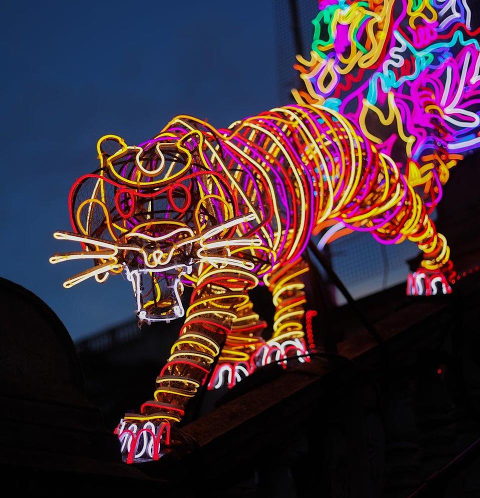 A tiger from her Tate Britain installation (Mike Marsland/WireImage)