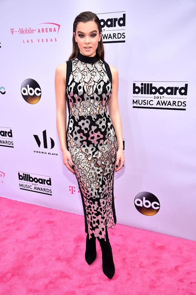 <p>David Koma scores another win with this second-skin frock. (Photo: Getty Images) </p>