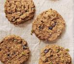 """<p>These protein-packed, nutrient-dense cookies are satisfying and delicious. And if you make one batch, you'll have dessert (or breakfast!) for a week. They come in at 290 calories, since they're made with breakfast in mind.<br></p><p><strong><em><a href=""""https://www.prevention.com/food-nutrition/recipes/a31004370/pumpkin-cherry-breakfast-cookies-recipe/"""" rel=""""nofollow noopener"""" target=""""_blank"""" data-ylk=""""slk:Get the recipe from Prevention »"""" class=""""link rapid-noclick-resp"""">Get the recipe from Prevention »</a></em></strong></p>"""