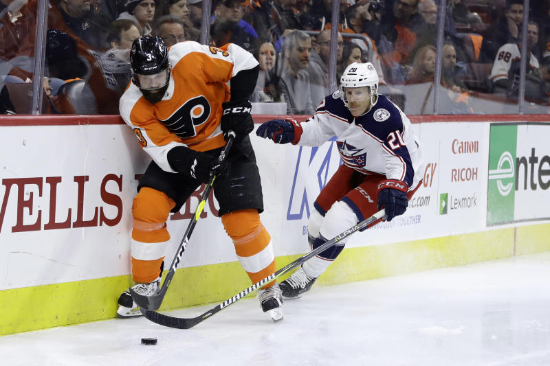 Seth Jones scores in OT to lift Blue Jackets over Flyers 4-3