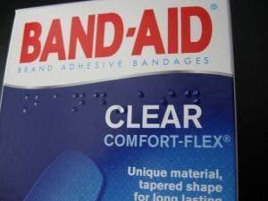 Box of band aids