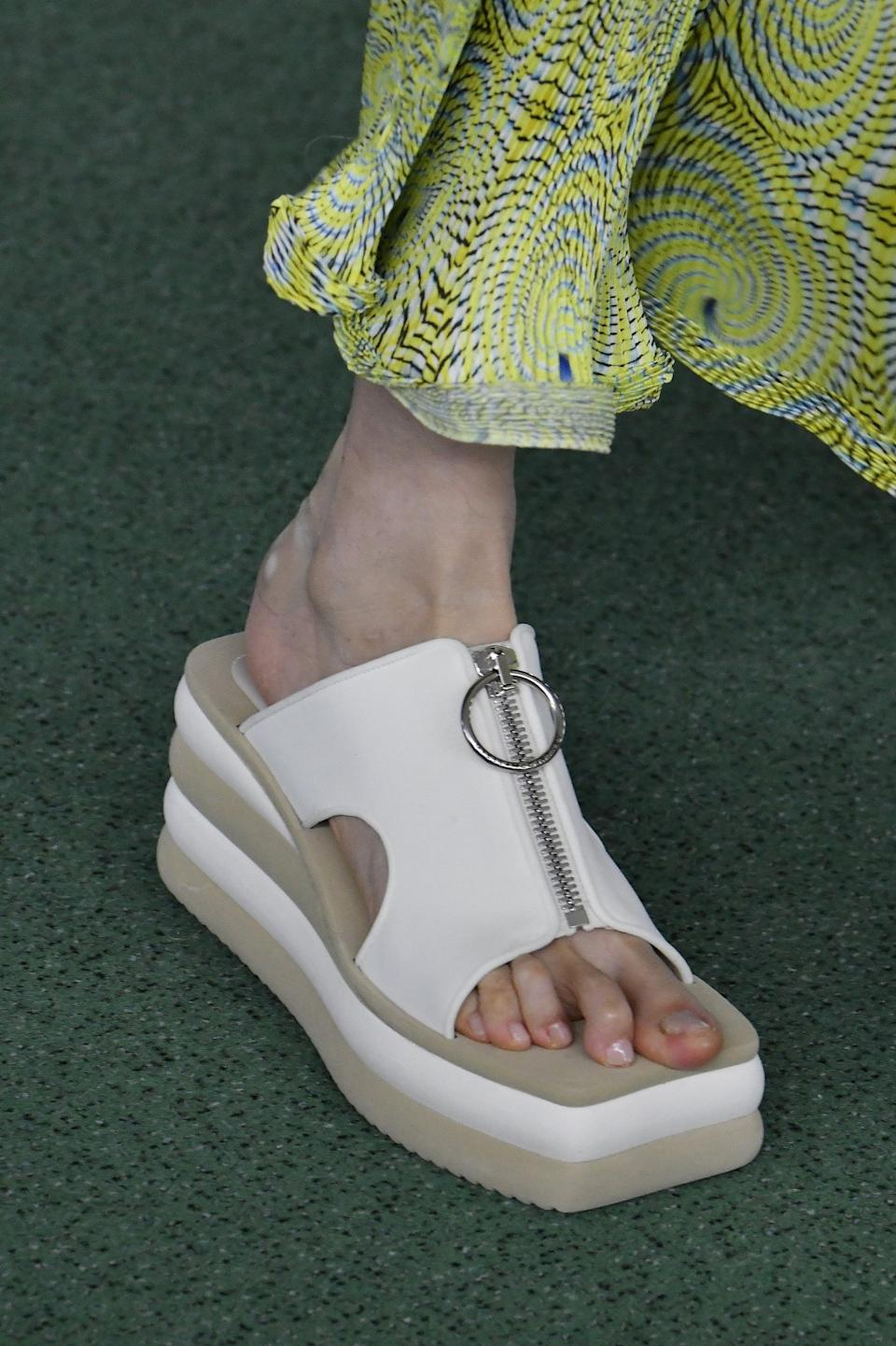 <p>Shoes from Stella McCartney spring 2022 collection.</p>