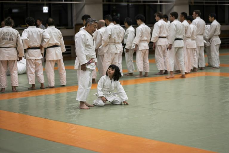 Judo is seen as a sport for all ages (AFP Photo/Behrouz MEHRI)