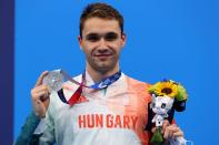 Swimming - Men's 100m Butterfly - Medal Ceremony