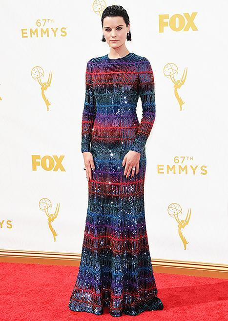 Jaimie Alexander at the Emmys on September 20, 2015