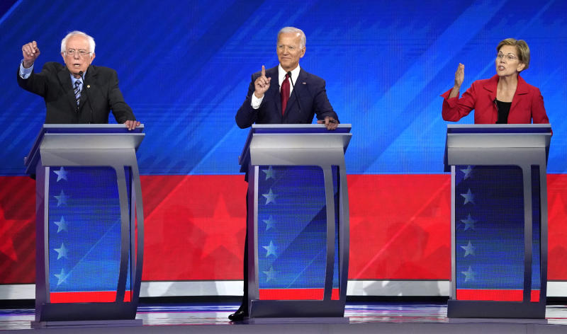 How the Deficit Looms Over the Democratic Presidential Race