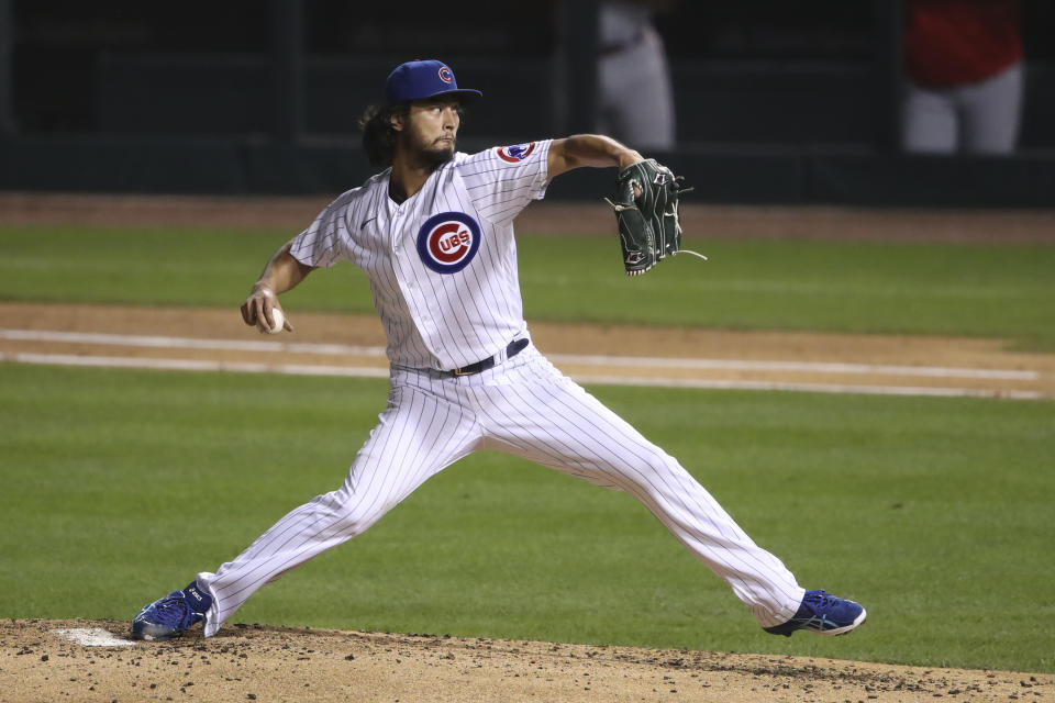 The Padres made their trade for Yu Darvish official late Tuesday night, securing their second new top-tier starting pitcher in as many days.