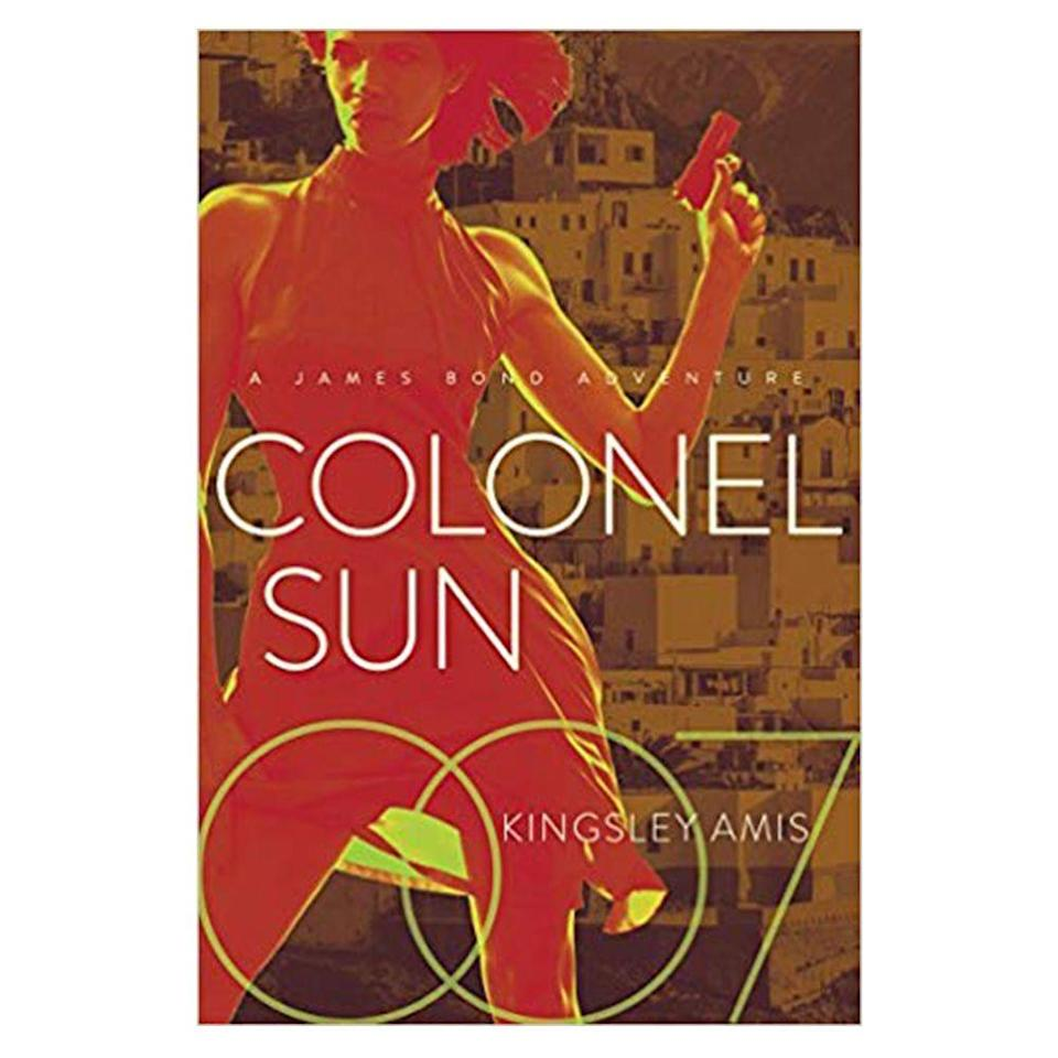 """<p><a class=""""link rapid-noclick-resp"""" href=""""https://www.amazon.co.uk/Colonel-Sun-James-Bond-Adventure/dp/1681776499/ref=sr_1_16?ie=UTF8&qid=1551193445&sr=8-16&keywords=james+bond+books"""" rel=""""nofollow noopener"""" target=""""_blank"""" data-ylk=""""slk:SHOP"""">SHOP </a></p><p>Kingsley Amis wrote this, the first James Bond novel not penned by Ian Fleming, almost 51 years ago under the pseudonym Robert Markham. That's not the only reason it's notable, though: Amis introduces a more emotionally vulnerable Bond, with The Chicago Tribune book reviewer SK Oberbeck noting that the celebrated Lucky Jim author turned Bond into something he had never previously been: """"a man with a job.""""</p><p><a href=""""https://www.amazon.co.uk/Colonel-Sun-James-Bond-Adventure/dp/1681776499/ref=sr_1_16?ie=UTF8&qid=1551193445&sr=8-16&keywords=james+bond+books"""" rel=""""nofollow noopener"""" target=""""_blank"""" data-ylk=""""slk:Amazon.co.uk"""" class=""""link rapid-noclick-resp"""">Amazon.co.uk</a>, £16.49</p>"""