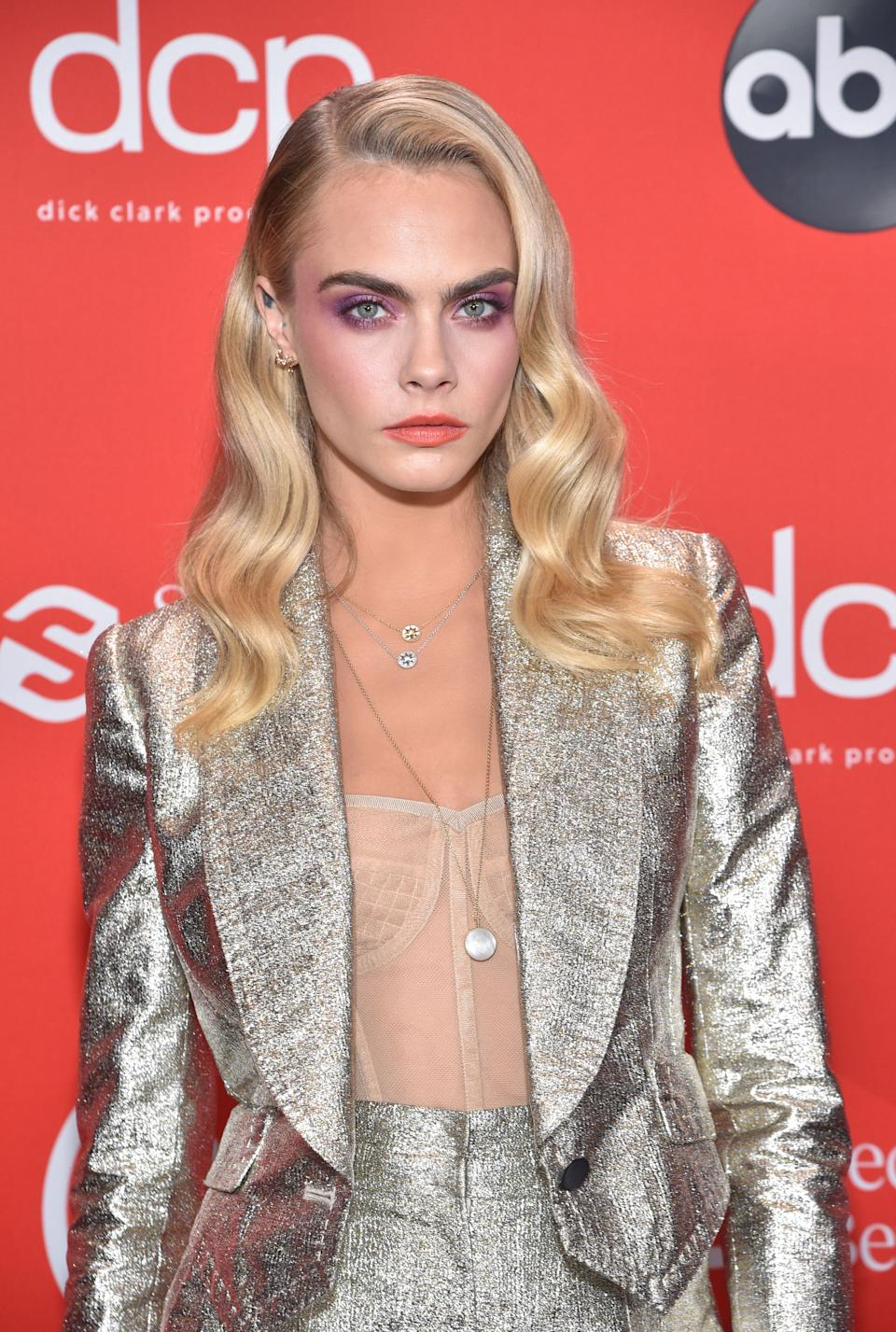 Cara Delevingne is nominated in the celebrity category. (ABC via Getty Images)
