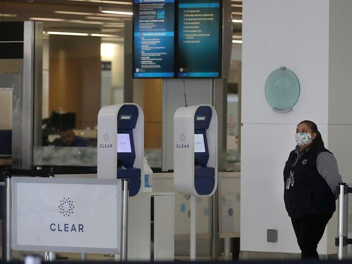 Clear kiosks airport