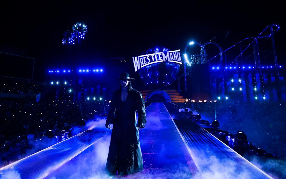 The Undertaker makes an entrance - WWE