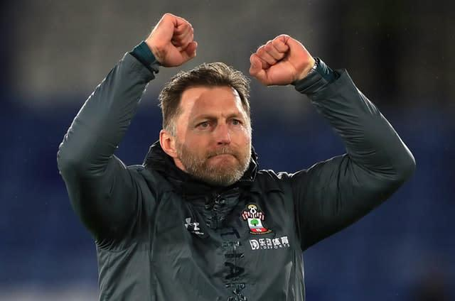Ralph Hasenhuttl, pictured, believes Danny Ings deserves an international call (Mike Egerton/PA)