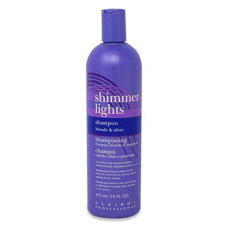 "<p><strong>Shimmer Lights</strong></p><p>walmart.com</p><p><strong>$9.54</strong></p><p><a href=""https://go.redirectingat.com?id=74968X1596630&url=https%3A%2F%2Fwww.walmart.com%2Fip%2F52876216&sref=https%3A%2F%2Fwww.thepioneerwoman.com%2Fbeauty%2Fhair%2Fg34441514%2Fbest-shampoo-for-gray-hair%2F"" rel=""nofollow noopener"" target=""_blank"" data-ylk=""slk:Shop Now"" class=""link rapid-noclick-resp"">Shop Now</a></p><p>This shampoo is filled with hair strengthening proteins that also help reduce the brassy yellow tones that typically plague lighter hair colors. </p>"