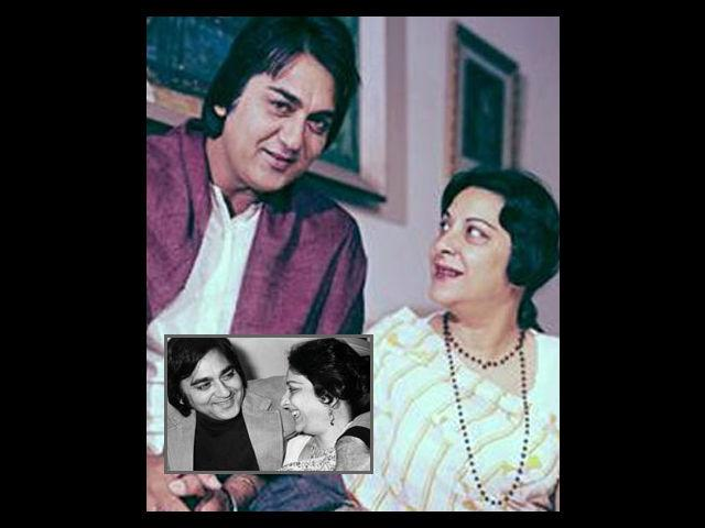 <b>Nargis and Sunil Dutt</b><br><br>In the post-partition era, Nargis and Sunil Dutt's marriage shocked everyone, because of their different religious backgrounds. Nargis was still nursing her broken heart after the well-publicised relationship with Raj Kapoor ended. The actress fell in love with Sunil Dutt on the sets of Mother India, where Sunil heroically saved her from an accidental fire, by dragging her out of the harm's way. Their love blossomed during the time they were recovering from the mishap, as mentioned by author Kishwar Desai in his book, Darlingji– The True Love Story of Nargis and Sunil Dutt.