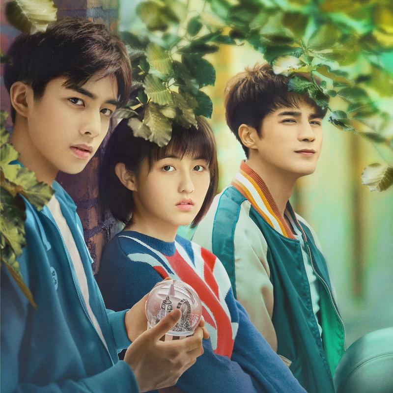 From left to right: Song Weilong, Zhang Zifeng and Jiang Chao in Passage Of My Youth. (Photo: iQiyi)
