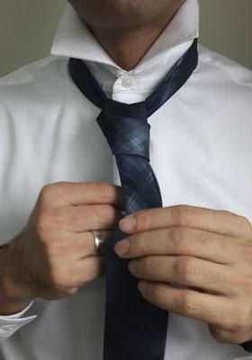 The 24-year-old has even arranged to have a particular tie to be dressed in at his funeral. Photo: Getty Images.