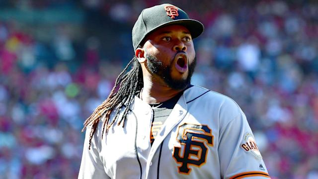 The San Francisco Giants overcame the Los Angeles Angels as Johnny Cueto starred.