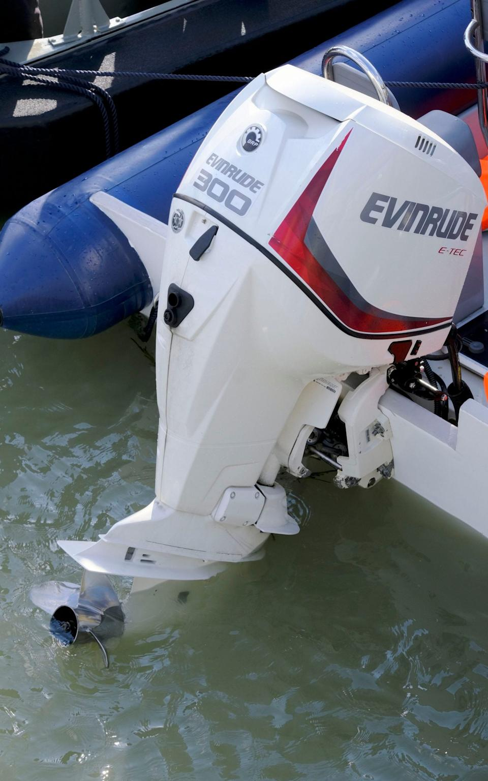 The boat was fitted with a £20,000 300bhp engine - Steve Finn