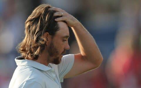 <span>Tommy Fleetwood played his way into contention brilliantly but fell just short of a second title in as many weeks</span> <span>Credit: AP </span>
