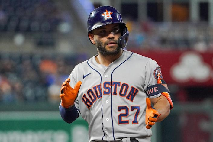 Jose Altuve is a three-time batting champ currently on the Houston Astros.