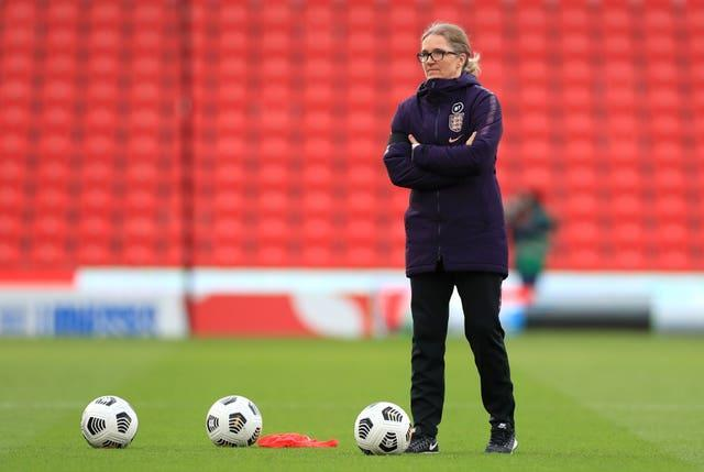 Hege Riise is overseeing the GB squad after three matches as England interim boss (Mike Egerton/PA).
