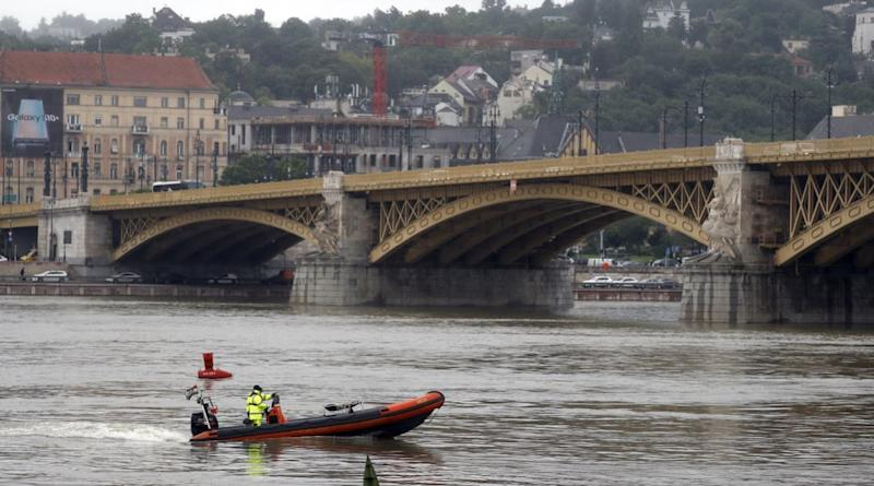 Seven people have died after a boat sank on the Danube River in Budapest (PA)