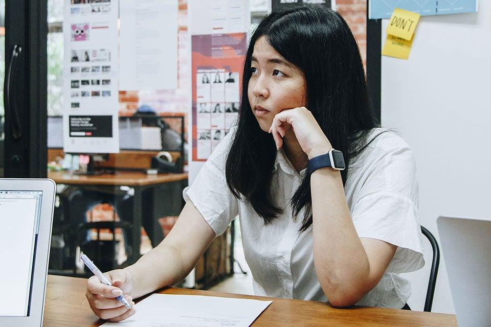 "<h2>Ramida Juengpaisal, Thailand</h2><br>Ramida Juengpaisal and her colleagues at web design firm 5Lab in Bangkok, Thailand, <a href=""https://covidtracker.5lab.co/en"" rel=""nofollow noopener"" target=""_blank"" data-ylk=""slk:built a tracker of COVID-19 cases"" class=""link rapid-noclick-resp"">built a tracker of COVID-19 cases</a>, giving the city's 10 million residents up-to-date news and information about the pandemic and helping to stop the spread of misinformation. There have been 26,000 cases of COVID-19 in Thailand, with an average of around 130 new cases a week.<span class=""copyright"">Photo by Deachawat Sriolankul.</span>"