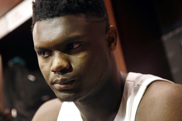 An agent at the center of the claim that Zion Williamson was paid $400,000 while at Duke says he was the victim of a con job. (AP Photo/Patrick Semansky)