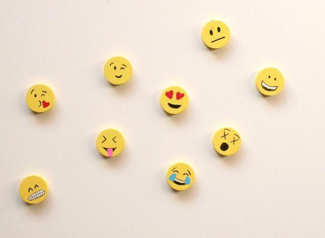 """<p>Add some personality — ahem, multiple personalities — to those lockers with these LOL-worthy magnets. All you need are round magnets and some paint (make sure you have plenty of yellow).</p><p><em><a href=""""http://www.thesurznickcommonroom.com/2015/10/emoji-magnets.html"""" rel=""""nofollow noopener"""" target=""""_blank"""" data-ylk=""""slk:Get the tutorial at The Surznick Common Room »"""" class=""""link rapid-noclick-resp"""">Get the tutorial at The Surznick Common Room »</a></em> </p>"""