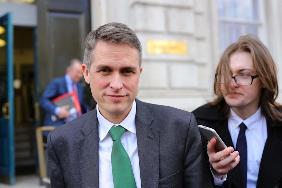 <p>Education secretary Gavin Williamson is expected to announce that youngsters will be given information prior to entering the exam hall</p> (PA)