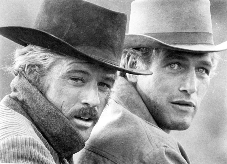 """The natural chemistry of Robert Redford (left) and Paul Newman proved a huge selling point for 1969's """"Butch Cassidy and the Sundance Kid."""""""