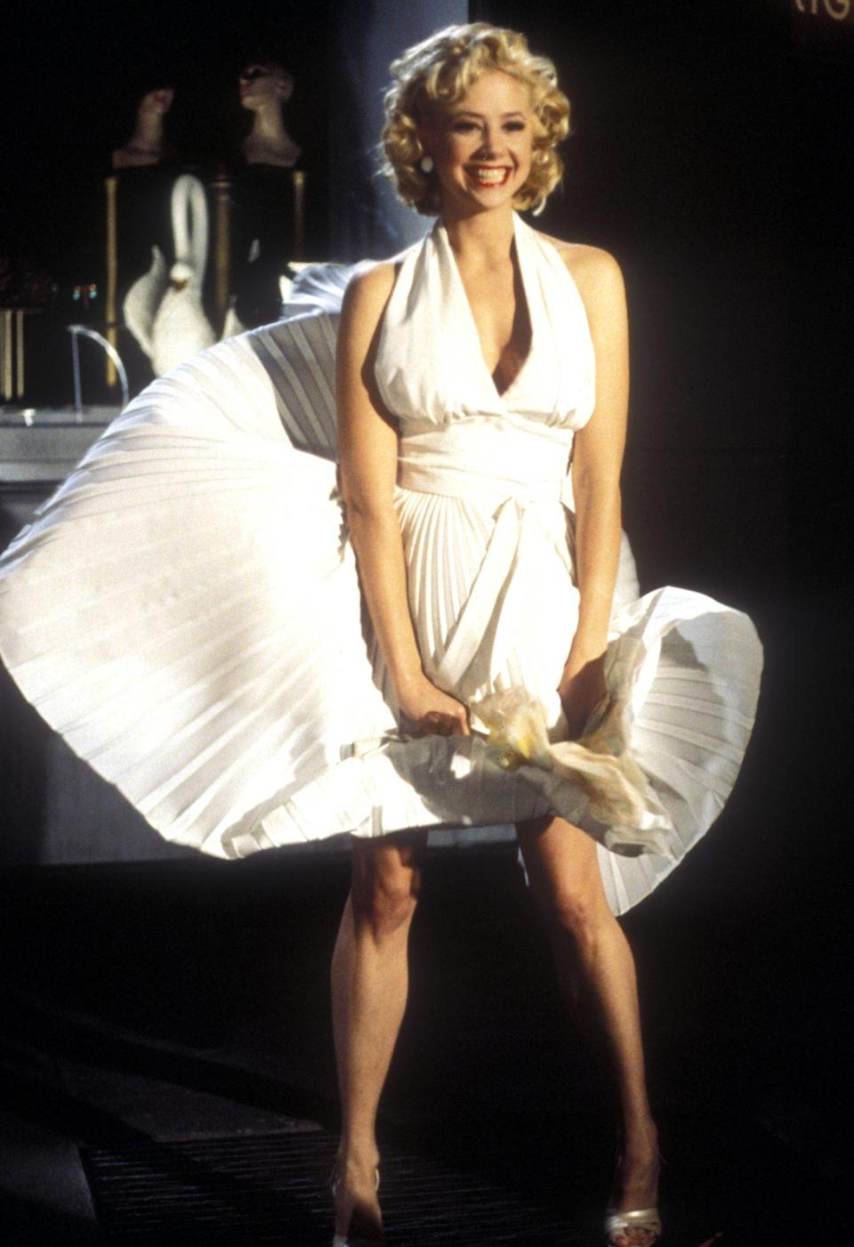 <p>Opposite Judd, Sorvino also starred as Monroe in <em>Norma Jean and Marilyn,</em> channeling the famous actress after she turned herself into a superstar. </p>