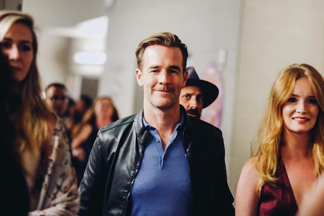 <p>LAS VEGAS, NV – SEPTEMBER 22: James Van Der Beek attends the 2017 iHeartRadio Music Festival at T-Mobile Arena on September 22, 2017 in Las Vegas, Nevada. (Photo: Getty Images for iHeartRadio) </p>