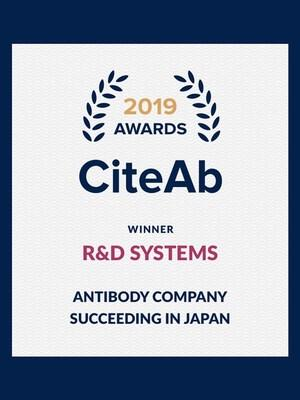R&D Systems wins Antibody company succeeding in Japan award