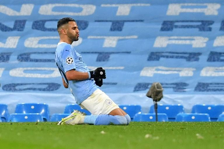 Riyad Mahrez scored twice as Manchester City beat Paris Saint-Germain 2-0 on Tuesday to reach their first ever Champions League final