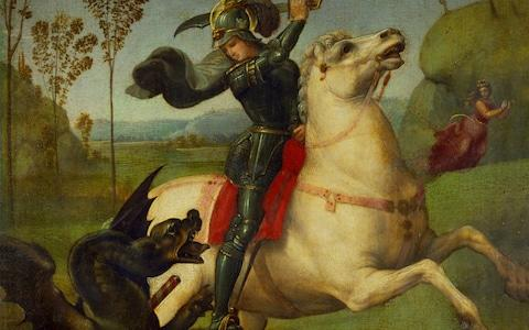 Saint George and the Dragon - Credit: Imagno,/HULTON ARCHIVE