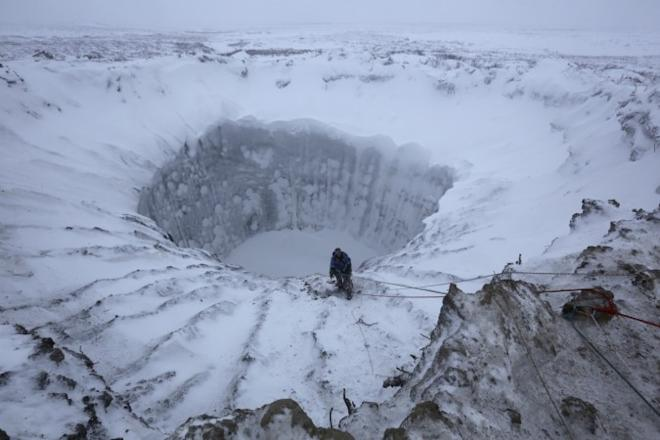pingos, Arctic, craters, mystery, environment,