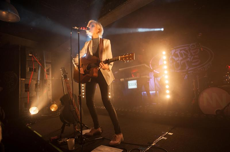 Nina Nesbitt performs at King Tut's Wah Wah Hut in Glasgow, Scotland, 2017: Getty/Roberto Ricciuti/Redferns