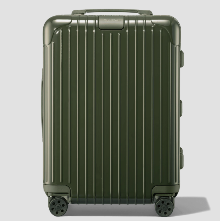 """<p><strong>RIMOWA </strong></p><p>rimwoa.com</p><p><strong>$680.00</strong></p><p><a href=""""https://go.skimresources.com?id=74968X1525079&xs=1&url=https%3A%2F%2Fwww.rimowa.com%2Fus%2Fen%2Fluggage%2Fcolour%2Fcactus-green%2Fcabin%2F83253894.html%23gclid%3DCjwKCAjw6qqDBhB-EiwACBs6x8cwJ3Y6EM2fZnFbbpPc4mmmYoK0aui20v1oxCRIQiSv5i6JPv71SBoChdcQAvD_BwE%26gclsrc%3Daw.ds%26start%3D1"""" rel=""""nofollow noopener"""" target=""""_blank"""" data-ylk=""""slk:Shop Now"""" class=""""link rapid-noclick-resp"""">Shop Now</a></p><p>Whether it's for a quick work trip or a long weekend away, RIMOWA's cabin-sized suitcase will work hard in his lineup. Opt for the cool green color to ensure it stands out in a sea of luggage. </p>"""